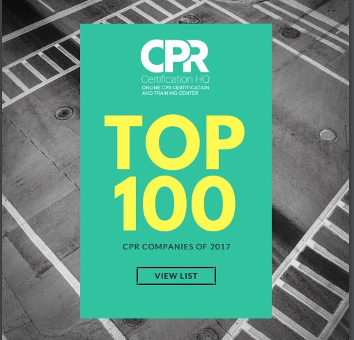 CPR Society Named Nation's Top 100 CPR Certification Company